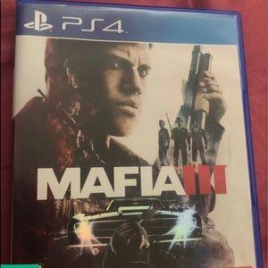 Sony PS4 Mafia game